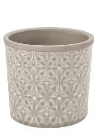 Кашпо керамическое, L  Porto Grey Indoor Pots Collection Burgon & Ball