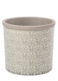 Кашпо керамическое, L  Tuscany Grey Indoor Pots Collection Burgon & Ball