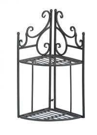 Угловая металлическая этажерка для цветов Esschert Design