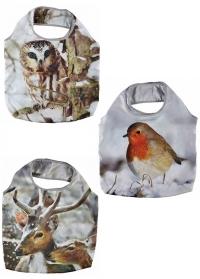 Складная сумка для покупок Зима Esschert Design TP227 фото
