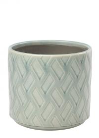 Кашпо керамическое для домашних цветов Barcelona Indoor Pots фото.jpg