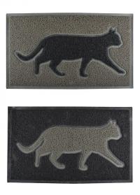 Резиновый придверный коврик «Кот» Esschert Design RB191 фото