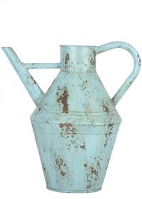 Декоративная лейка для цветов 5 литров Vintage Blue Esschert Design фото.jpg