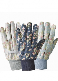 Набор флористических перчаток из хлопка Flower Girl by Julie Dodsworth Briers фото.jpg