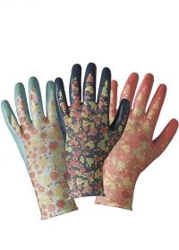 Набор флористических перчаток с нитрилом Orangery by Julie Dodsworth Briers фото.jpg