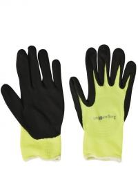 Перчатки для флориста флуорсцентные Florabrite Yellow Burgon & Ball фото.jpg