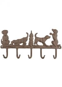 Крючок декоративный «Собаки» Esschert Design
