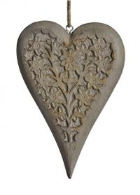 Новогоднее украшение - подвеска сердечко Lene Bjerre фото.jpg