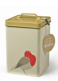 Контейнер для хранения корма для птиц Creaturewares Burgon Ball фото.jpg