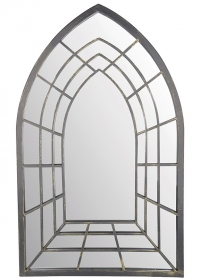 Зеркало для сада и дачи trompe l'oeil в готическом стиле WD30 Esschert Design фото