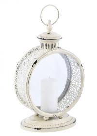 Винтажный свечной фонарь White WL61 Esschert Design фото.jpg