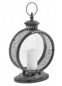 Старинный свечной фонарь Grey WL61 Esschert Design фото.jpg