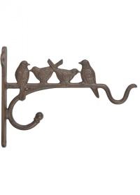 Кронштейн настенный двойной «Птицы» Esschert Design