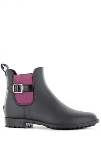 Ботинки челси резиновые женские Black Delia Blackfox фото.jpg