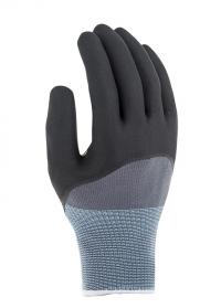 Перчатки садовые прочные с нитрилом Tactil Blackfox фото