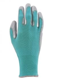 Перчатки садовые с нитрилом Blue Lagoon Colors Blackfox фото