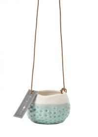 Подвесное керамическое кашпо для суккулентов Baby Dotty Burgon Ball фото.jpg