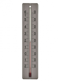 Термометр из дерева для дома и улицы Grey AJS Blackfox фото