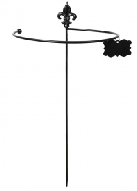Держатель для цветов круглый чугунный 100 cм PY77 Esschert Design фото.jpg
