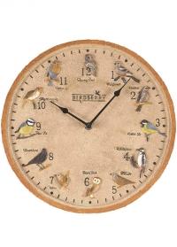 Часы уличные настенные с птицами Birdberry by Outside In фото