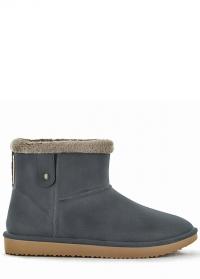 Ботинки угги зимние резиновые Cheyenne Anthracite - французская обувь AJS Blackfox фото.jpg