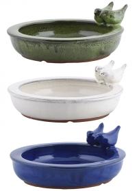 Купальня для птиц керамическая садовая FB421 Esschert Design фото