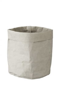Эко мешок декоративный для хранения 20 см Caia Grey от Lene Bjerre фото