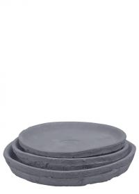 Поддоны под горшки из терракоты набор 3 шт AT47 Esschert Design фото