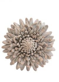 Декор интерьерный терракотовый Хризантема Serafina Flower Lene Bjerre фото