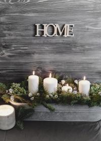 Авторская новогодняя композиция Lace&Grace в интерьер
