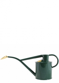 Лейка для цветов металлическая 1 л. 165-2-GRN Rowley Ripple Green Haws фото.jpg