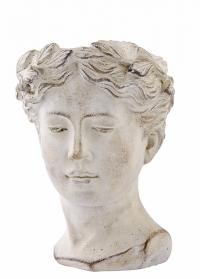 Фигурное кашпо для цветов в форме головы Flavia Lene Bjerre фото