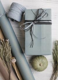 Стильная новогодняя подарочная упаковка Blue от Consta Garden фото