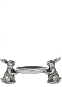 Декор пасхальный Кролики с подносом Semina Lene Bjerre фото