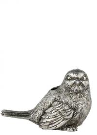 Подсвечник пасхальный Птичка Antique Silver Semina Lene Bjerre фото