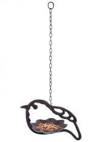 Кормушка для птиц подвесная чугунная Птица FB445 Esschert Design фото