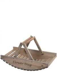 Корзина деревянная для сбора цветов Esschert Design NG80 фото