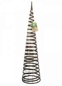 Опора для вьющихся растений Faux Rattan Obelisk Chestnut Smart Garden фото