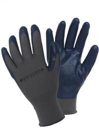 Перчатки садовые нитриловые для посадки и прополки Blue Briers фото