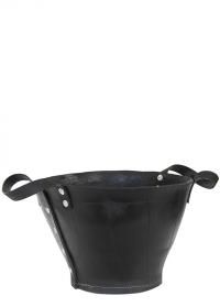 Кашпо-корзина для цветов ручной работы из переработанной резины WB46 Esschert Design фото