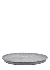 Поддон оцинкованный для цветочного горшка диаметром 25 см. OZ56 Esschert Design фото