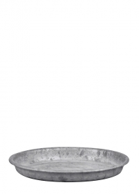 Поддон оцинкованный для цветочного горшка диаметром 12 см. OZ54 Esschert Design фото