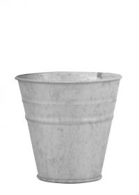 Оцинкованное кашпо-горшок для цветов 12 см. OZ50 Esschert Design фото