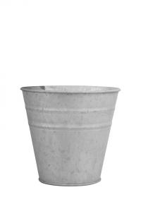 Оцинкованное кашпо-горшок для цветов 9 см. OZ49 Esschert Design фото