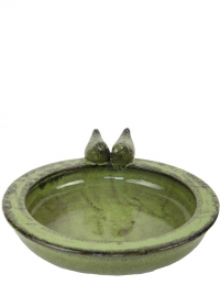 Купальня для птиц керамическая Green FB489 Esschert Design фото