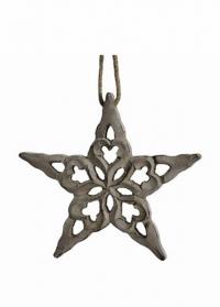 новогоднее украшение из дерева звезда Lene Bjerre фото.jpg