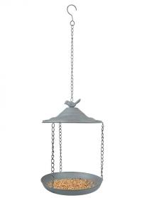 Кормушка для птиц металлическая открытая Grey Metal FB398 Esschert Design фото