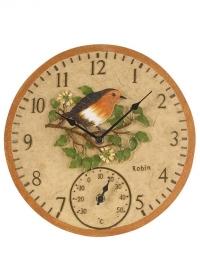 Часы настенные уличные Robin by Outside In Smart Garden фото
