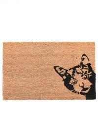 Коврик из кокосового волокна Peek-a-boo! Cat RB239 Esschert Design фото