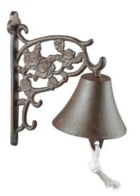 Дверной колокольчик чугунный Roses TT208 Esschert Design фото